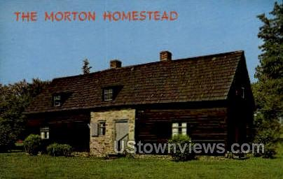 The Morton Homestead - Chester, Pennsylvania PA Postcard