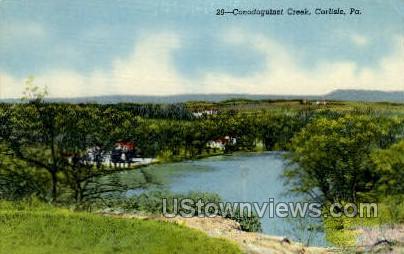 Conodoguinet Creek - Carlisle, Pennsylvania PA Postcard