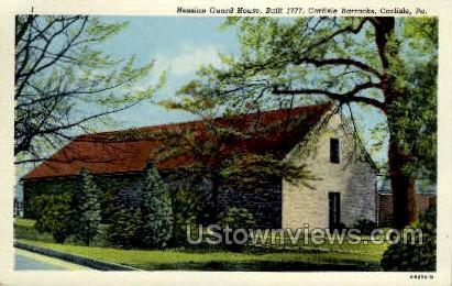 Hessian Guard House - Carlisle, Pennsylvania PA Postcard