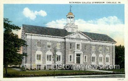 Dickinson College, Gym - Carlisle, Pennsylvania PA Postcard