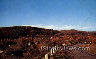U.S. 6 & State Rt. 44 & 49 - Coudersport, Pennsylvania PA Postcard