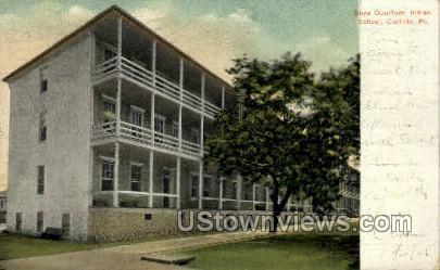 Boys Quarters, Indian School - Carlisle, Pennsylvania PA Postcard