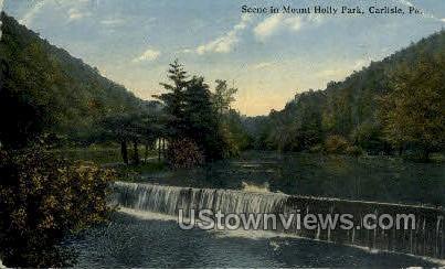 Mount Holly Park - Carlisle, Pennsylvania PA Postcard