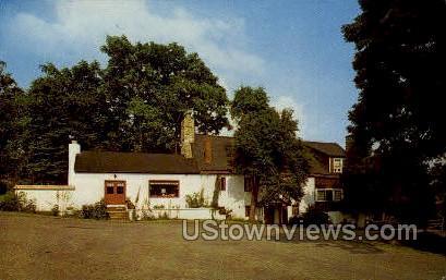 The Old Mill, Brinton Lake Road - Concordville, Pennsylvania PA Postcard
