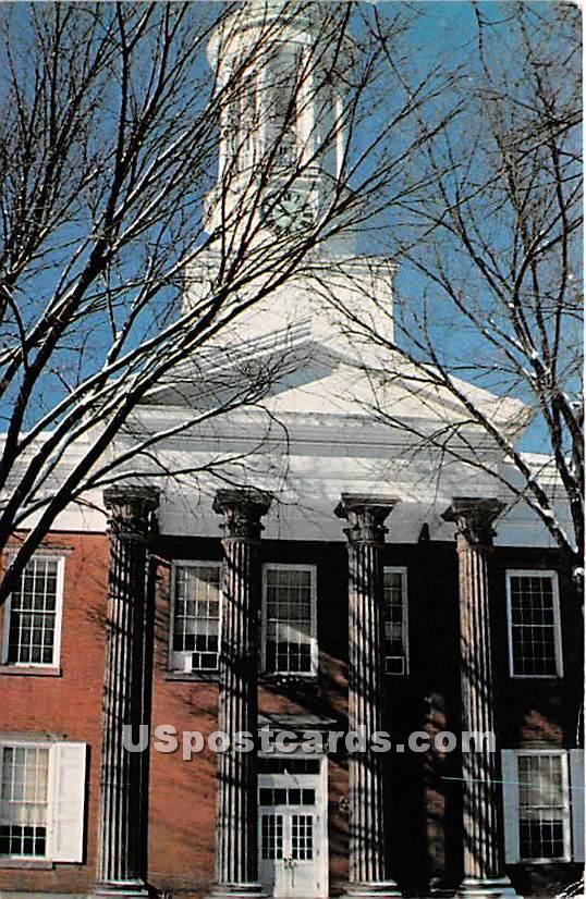 Old Cumberland County Court House - Carlisle, Pennsylvania PA Postcard