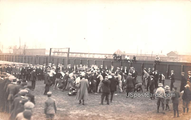 Crowd of People - Carlisle, Pennsylvania PA Postcard