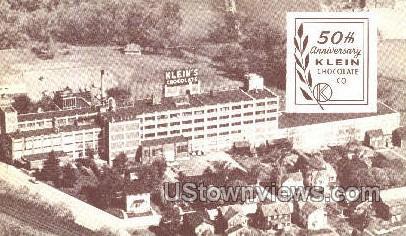 Klein Chocolate Co. - Elizabethtown, Pennsylvania PA Postcard