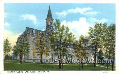 South College, Lafayette - Easton, Pennsylvania PA Postcard