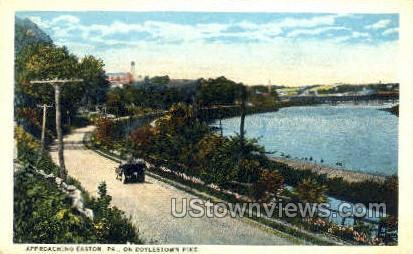 Doylestown Pike - Easton, Pennsylvania PA Postcard