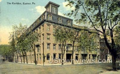 The Karldon - Easton, Pennsylvania PA Postcard