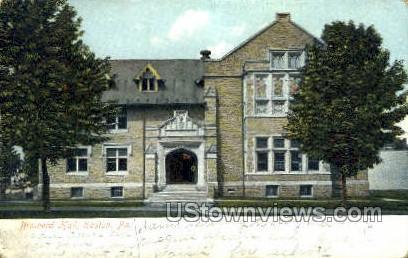 Brainerd Hall - Easton, Pennsylvania PA Postcard