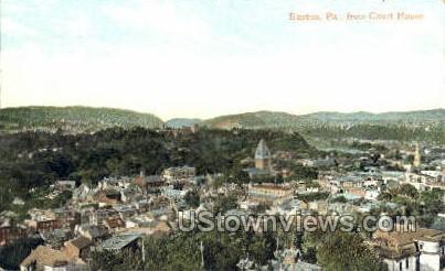 Court House - Easton, Pennsylvania PA Postcard