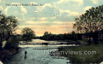 Bushkill - Easton, Pennsylvania PA Postcard