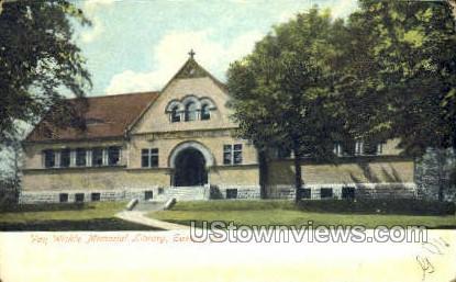 Van Wickle Memorial Library - Easton, Pennsylvania PA Postcard