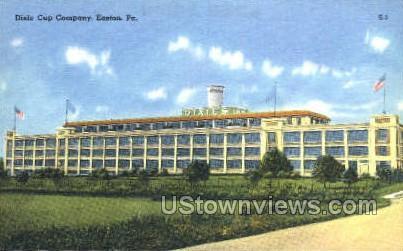 Dixie Cup Company - Easton, Pennsylvania PA Postcard