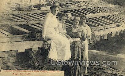 4 Mile Creek, Aug. 3, 1915 - Erie, Pennsylvania PA Postcard