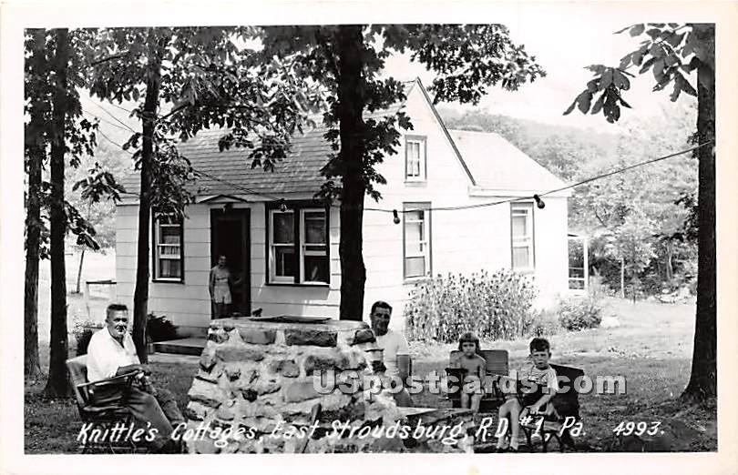 Knittle's Cottages - East Stroudsburg, Pennsylvania PA Postcard
