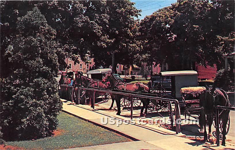 Lancaster County - Ephrata, Pennsylvania PA Postcard