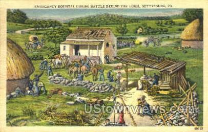 Emergency Hospital - Gettysburg, Pennsylvania PA Postcard