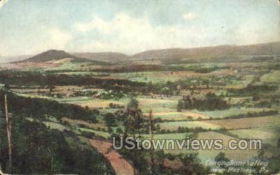 Conynghum Valley - Hazleton, Pennsylvania PA Postcard