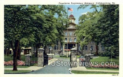 Franciscan Preparatory Seminary - Hollidaysburg, Pennsylvania PA Postcard