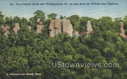 William Penn Highway - Hollidaysburg, Pennsylvania PA Postcard