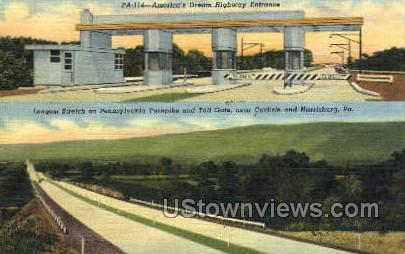 Aamerica's Dream Highway - Harrisburg, Pennsylvania PA Postcard