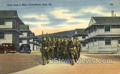 Indiantown Gap, Pennsylvania, PA, Postcard