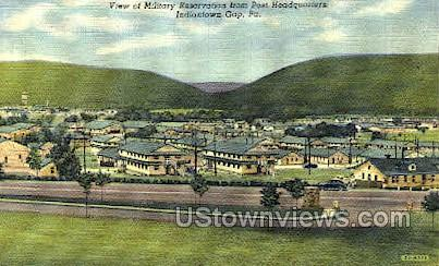 Military Reservation - Indiantown Gap, Pennsylvania PA Postcard