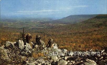 Hawk Mountain Sanctuary - Misc, Pennsylvania PA Postcard