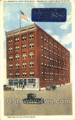 Hotel Hendler - Johnstown, Pennsylvania PA Postcard