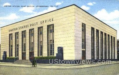US Post Office, Johnstown - Pennsylvania PA Postcard