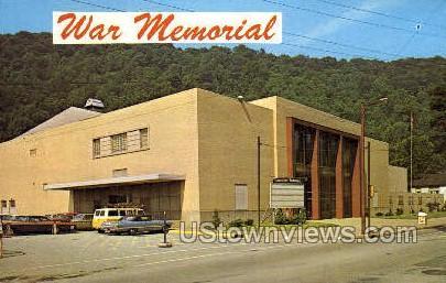 War Memorial - Johnstown, Pennsylvania PA Postcard