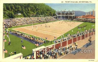 Point Stadium - Johnstown, Pennsylvania PA Postcard