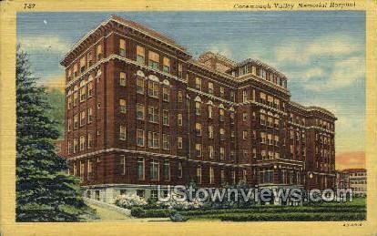 Conemaugh Memorial Hospital - Johnstown, Pennsylvania PA Postcard