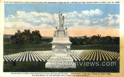 Johnstown Flood, May 31, 1889 - Pennsylvania PA Postcard
