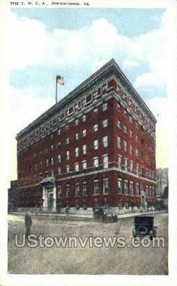 YMCA - Johnstown, Pennsylvania PA Postcard