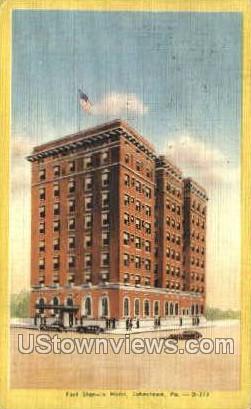 Fort Stanwix Hotel - Johnstown, Pennsylvania PA Postcard
