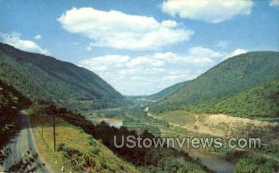 Conemaugh Gap - Johnstown, Pennsylvania PA Postcard
