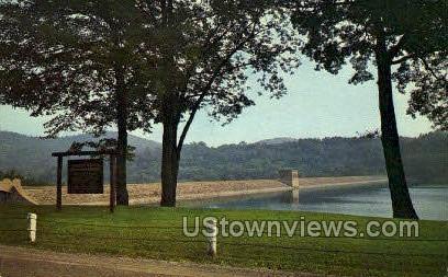 North Fork Reservoir - Johnstown, Pennsylvania PA Postcard