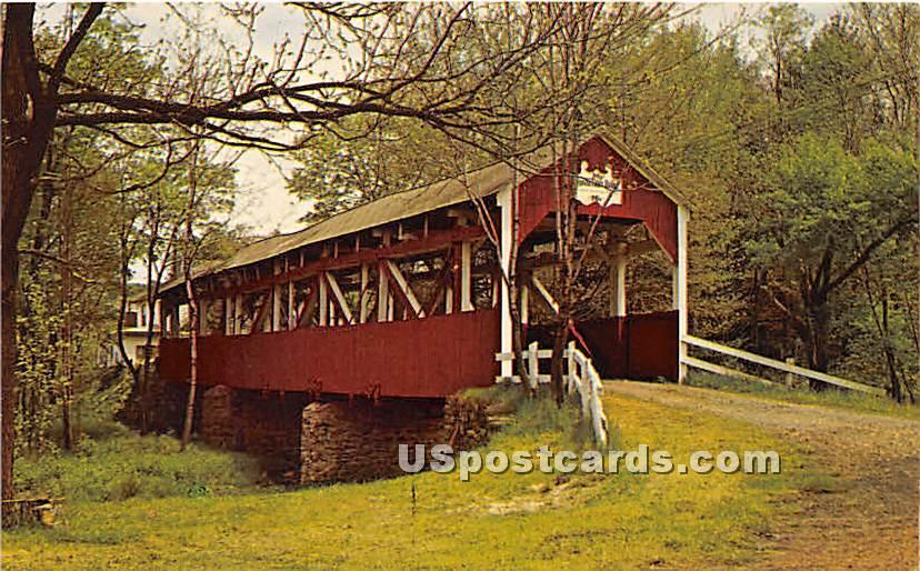 Trosletown Bridge - Johnstown, Pennsylvania PA Postcard