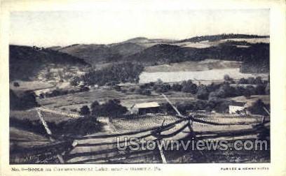 Cowanshannock Lake - Kittanning, Pennsylvania PA Postcard