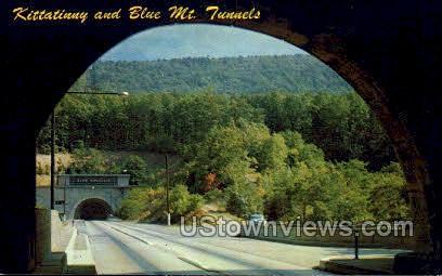 Blue Mt. Tunnels - Kittanning, Pennsylvania PA Postcard