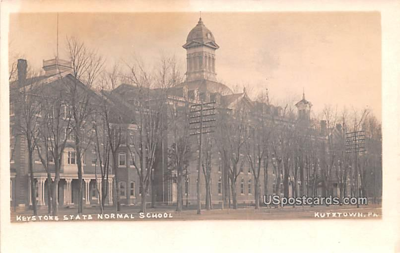 Keystone State Normal School - Kutztown, Pennsylvania PA Postcard