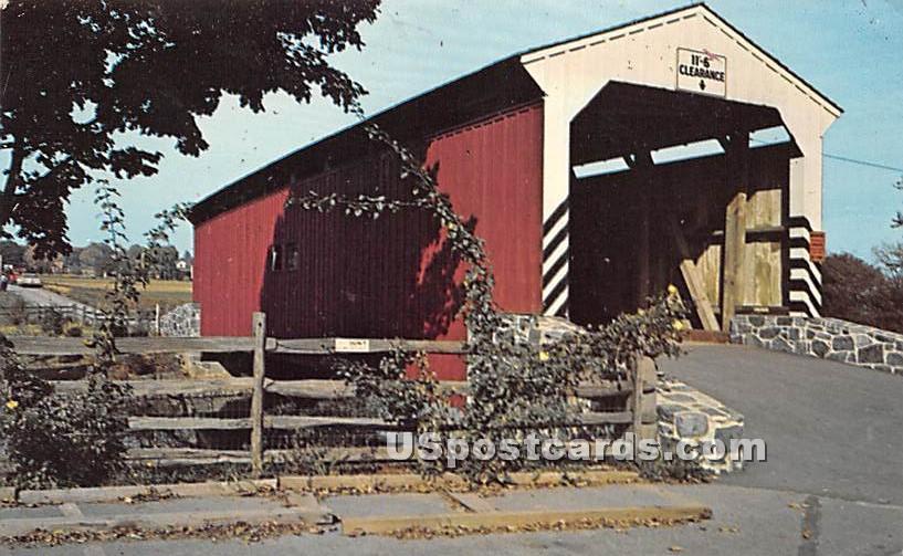 Lancaster, Pennsylvania PA Postcard