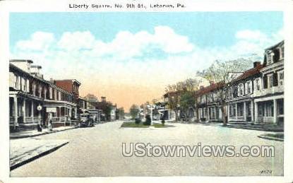 Liberty Square - Lebanon, Pennsylvania PA Postcard