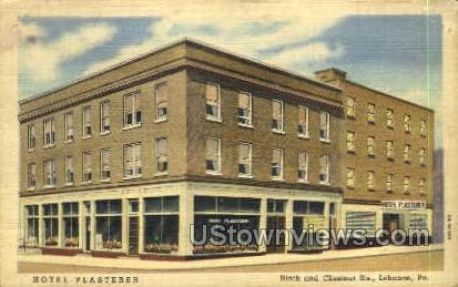 Ninth & Chestnut Street - Lebanon, Pennsylvania PA Postcard