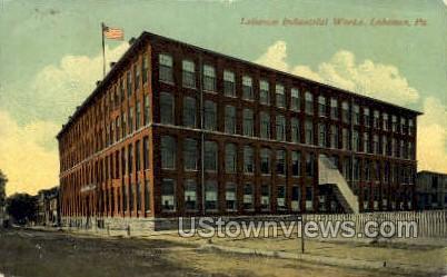 Lebanon Industrial Works - Pennsylvania PA Postcard