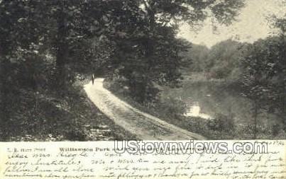 Williamson Park, Conestoga - Lancaster, Pennsylvania PA Postcard