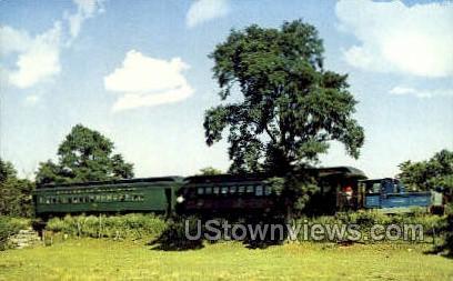 Strasburg Rail Road - Lancaster, Pennsylvania PA Postcard
